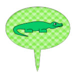 Alligator. Cake Toppers