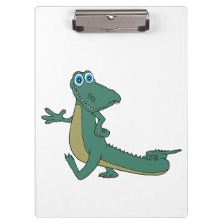 Alligator cartoon clipboards