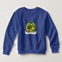 Alligator cartoon sweatshirt