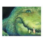 Alligator Christmas Card Post Cards