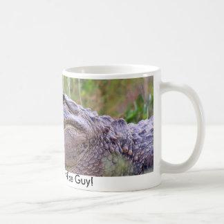 Alligator Classic White Coffee Mug