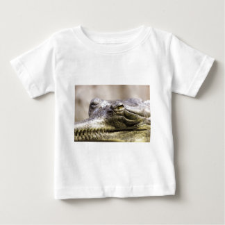 Alligator closeup photo baby T-Shirt