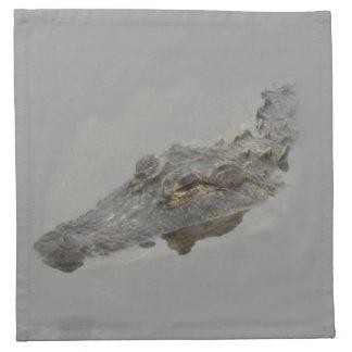 alligator cloth napkin