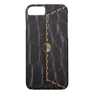 Alligator Clutch Bag iPhone 8/7 Case