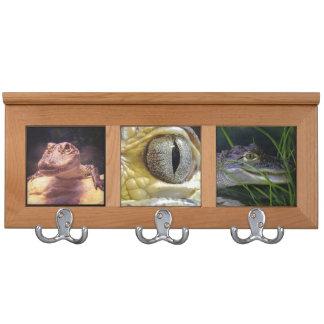Alligator Coat Rack