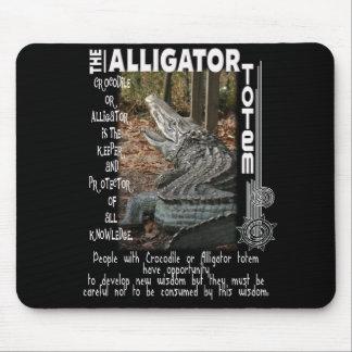 ALLIGATOR / CROCODILE TOTEM MOUSE PADS
