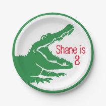 Alligator custom plate