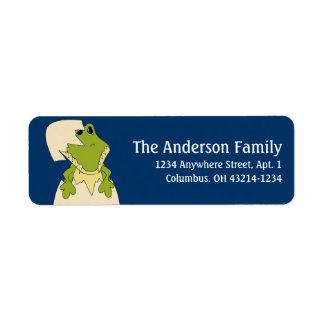 Alligator d2 Animal Return Address Labels