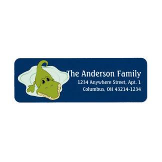 Alligator d3 Animal Return Address Labels
