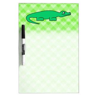 Alligator. Dry Erase Board