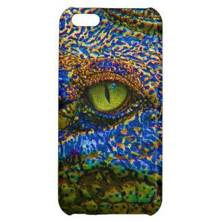 Alligator Eye Close Up iPhone 5C Case