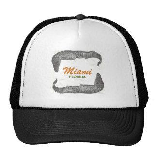 Alligator Frame Miami Trucker Hat