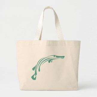 Alligator Gar Fish Large Tote Bag