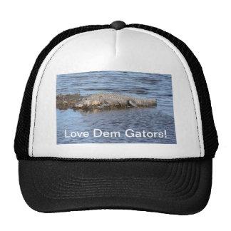 Alligator Gator Trucker Hat