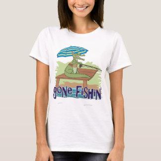 Alligator Gone Fishin' T-Shirt
