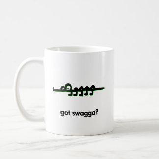 Alligator got swagga coffee mug