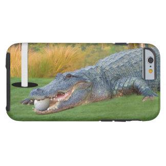 Alligator, Hazardous Lie on Golf Course Tough iPhone 6 Case