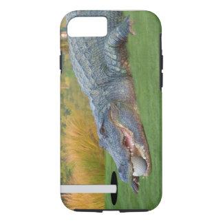 Alligator, Hazardous Lie on Golf Course iPhone 7 Case