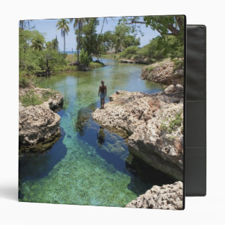 Alligator Hole, Black River Town, Jamaica 3 Ring Binders