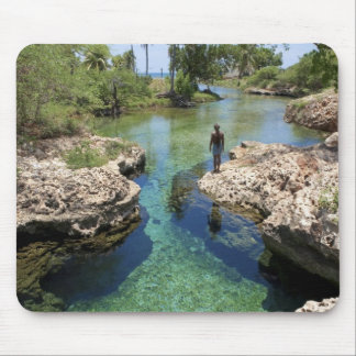 Alligator Hole, Black River Town, Jamaica Mouse Pad
