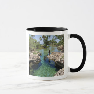 Alligator Hole, Black River Town, Jamaica Mug
