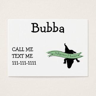 Alligator Hunter Business Card