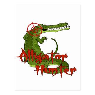 Alligator Hunter Postcard