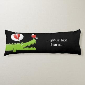 Alligator in Love Body Pillow