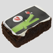Alligator in Love Chocolate Brownie
