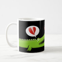 Alligator in Love Coffee Mug