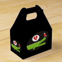 Alligator in Love Favor Box