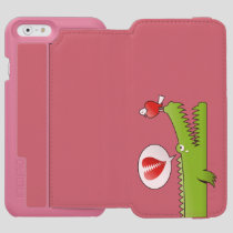 Alligator in Love iPhone 6/6s Wallet Case