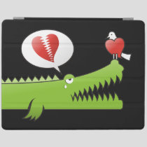 Alligator in Love iPad Smart Cover