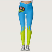 Alligator in Love Leggings
