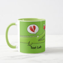 Alligator in Love Mug