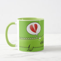 Alligator in Love Mug
