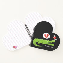 Alligator in Love Notebook
