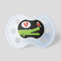 Alligator in Love Pacifier