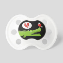 Alligator in Love Pacifier
