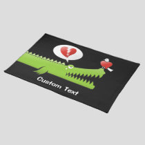 Alligator in Love Placemat