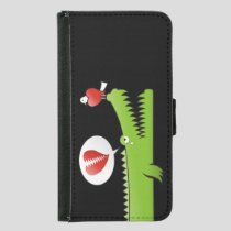 Alligator in Love Samsung Galaxy S5 Wallet Case