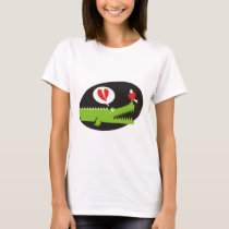 Alligator in Love T-Shirt