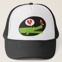 Alligator in Love Trucker Hat