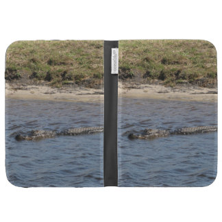 Alligator in the Water Caseable Case Kindle Covers
