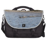 Alligator in the Water Commuter Bag