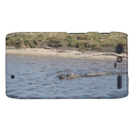 Alligator in the Water Droid Razr Case