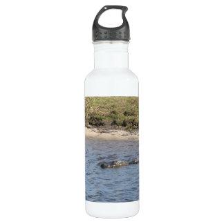Alligator in the Water Liberty Bottle 24oz Water Bottle