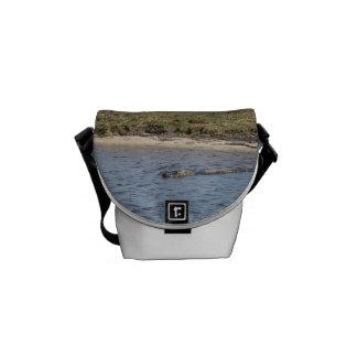Alligator in the Water Mini Messenger Bag