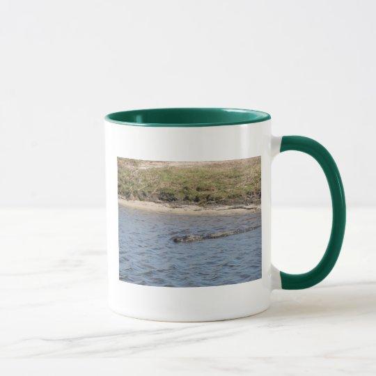 Alligator in the Water Mug