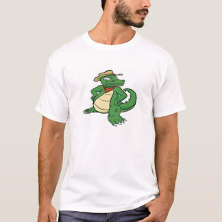 Alligator Instigator (solo) • Men's T-Shirt (XL)